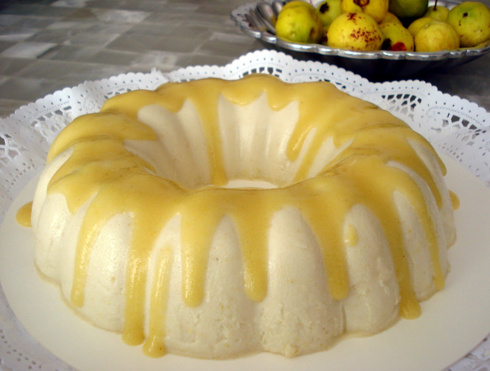 Rosiqui reposter a sin culpa mousse de guayaba - Como hacer mousse de yogurt ...
