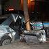 Accidente fatal: Murió un joven y su acompañante está en terapia intensiva