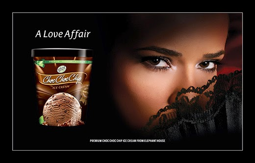 Premium Choc Choc Chip Ice Cream from Elephanthouse. Powercampaigner