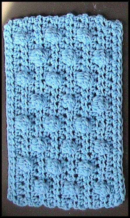 Free Crochet Patterns for the Beginner and the Advanced: Blue Bobble ...