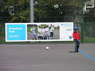 barclays spaces for sports football foundation