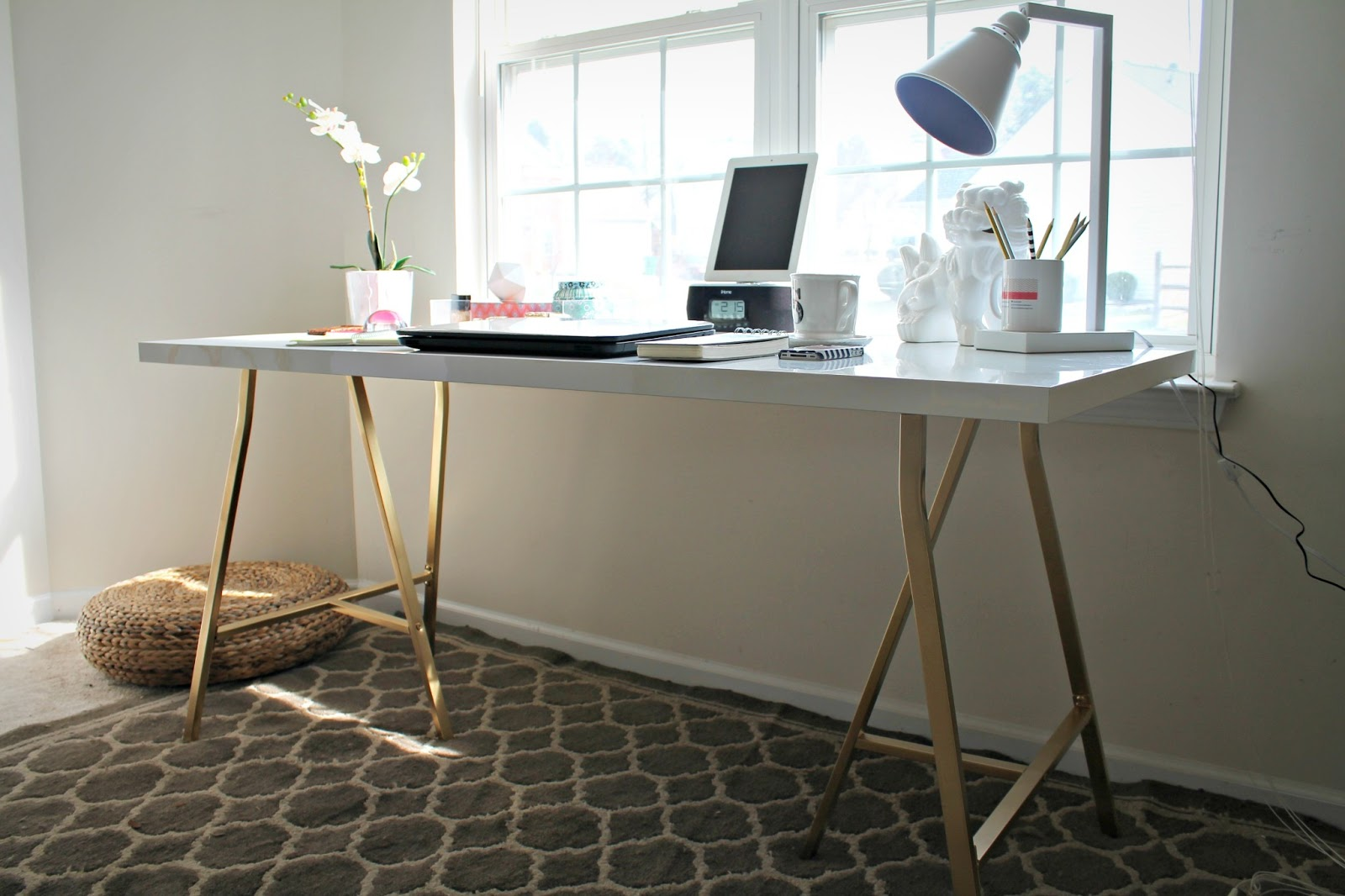 Ikea Hack My Office Desk Shannon Claire