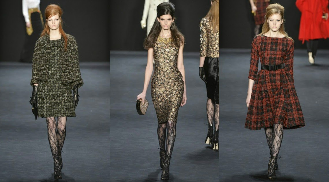 Badgley Mischka AW15 New York Fashion Week