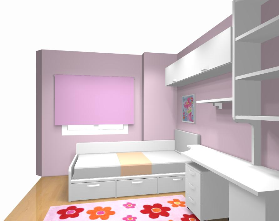 Ideas de dormitorios juveniles - Como decorar una columna ...