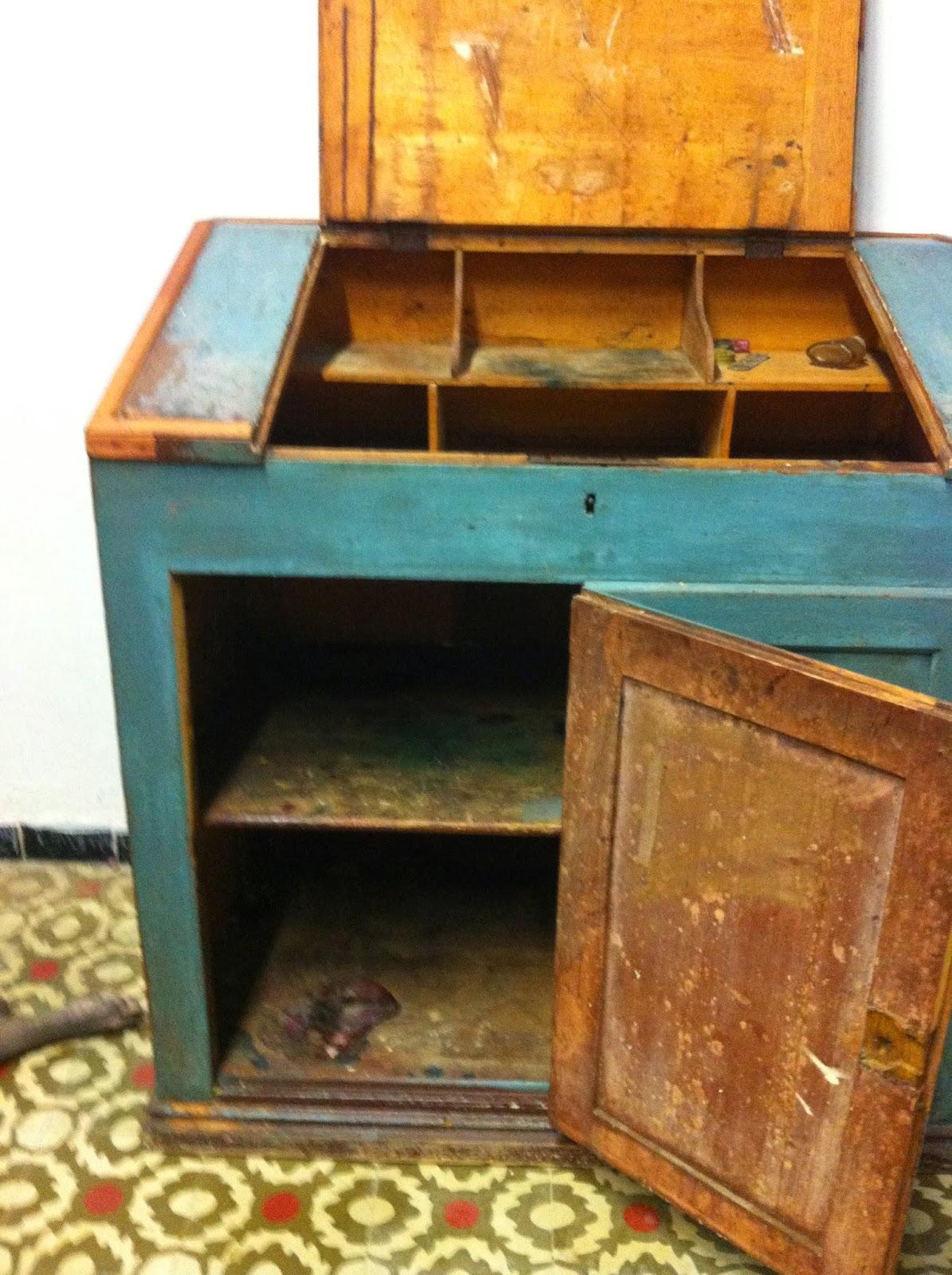 Decoraci n vintage antiguitats baraturantic antiguo for Escritorio industrial vintage
