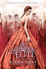 The Elite by Kiera Cass book cover