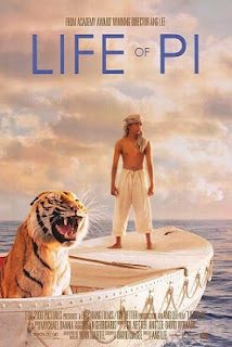 LIFE OF PI 2012 MOVIE POSTER