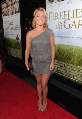 Hayden Panettiere One Shoulder Dress