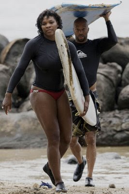 Serena Williams with Boyfriend