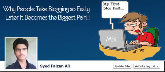 Blogger Timeline Cover