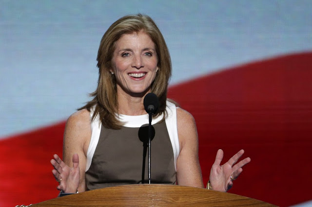 Caroline Kennedy addresses the Democratic National Convention. Charlotte, N.C., on Thursday, Sept. 6, 2012.