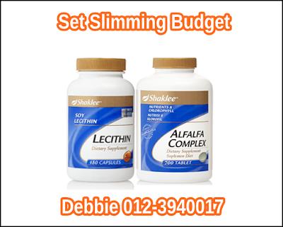 Set Slimming Budget - Herb-Lax dan Lecithin RM105.00