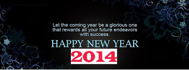Facebook cover new year