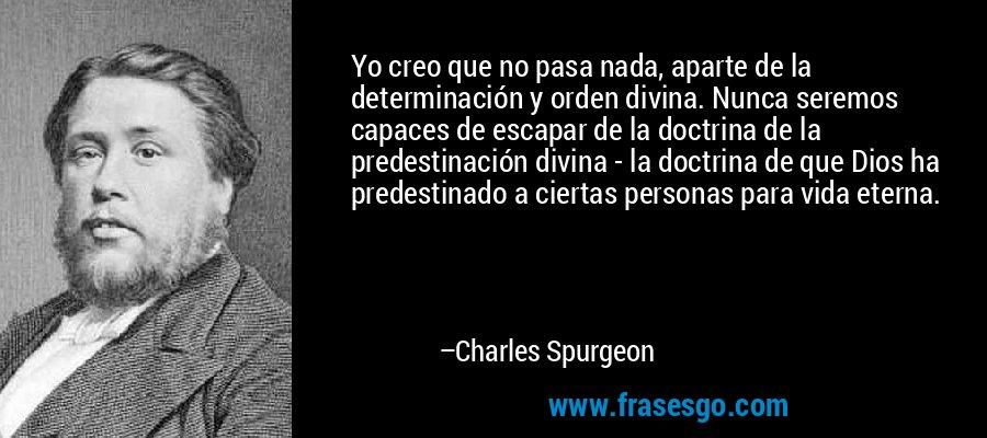 Predestinación y Seguridad Eterna