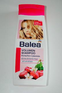 Balea - szampon dodający objętości czereśnia + jaśmin. Recenzja.