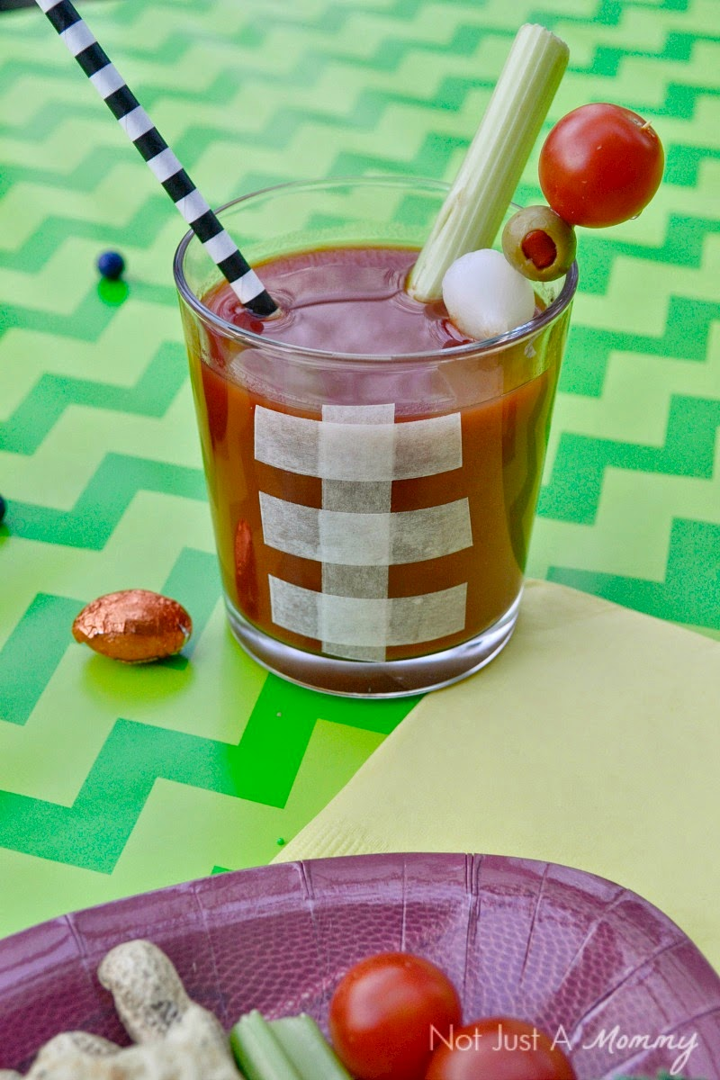 Easy Super Bowl party ideas; Bloody Mary