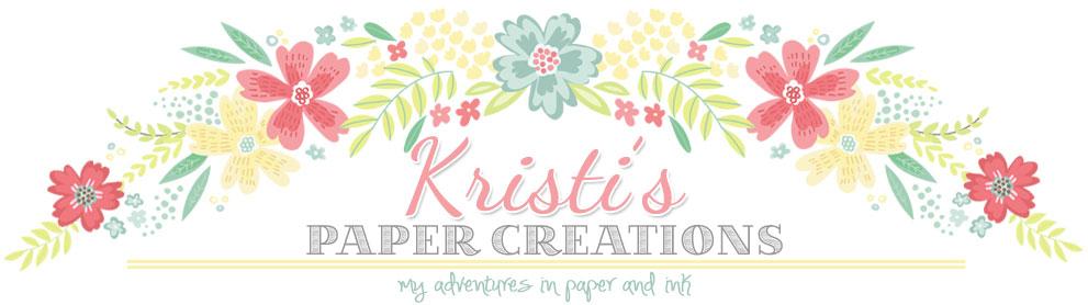 Kristi's Paper Creations