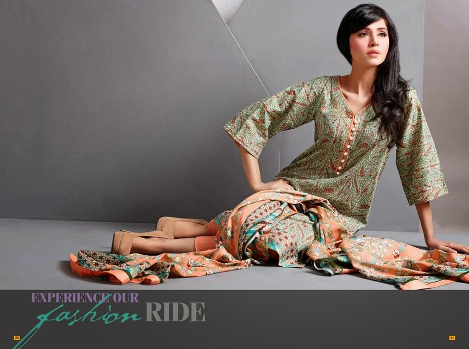 Pakistani swiss voil lawn suits 2015