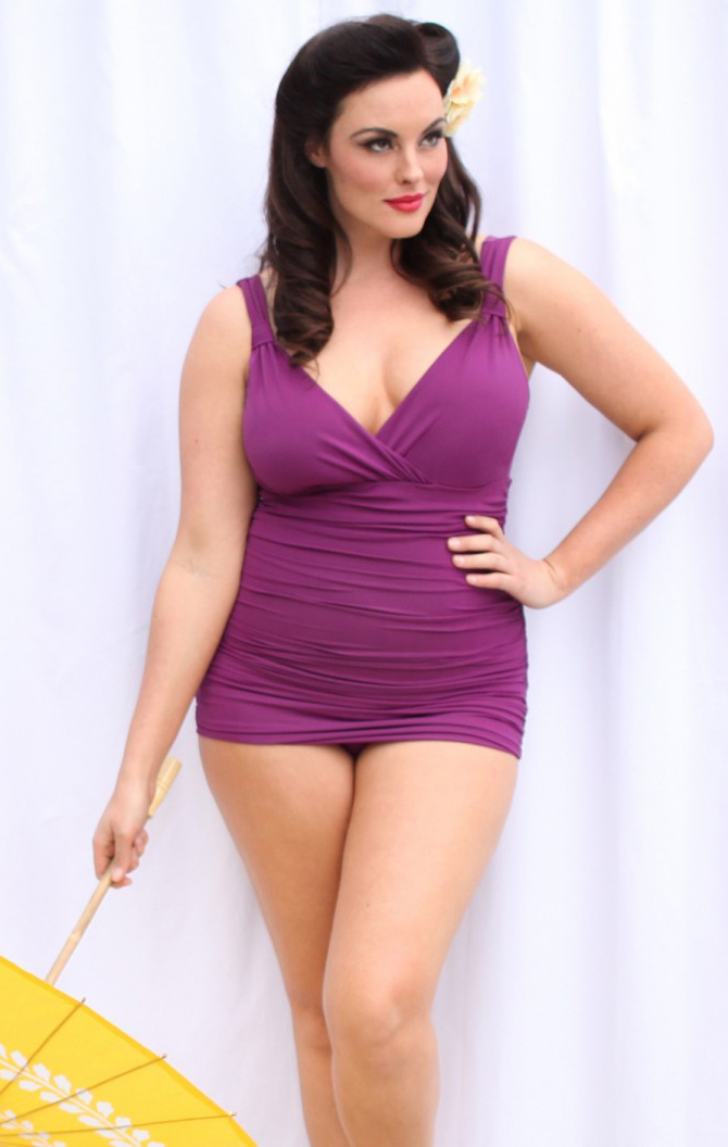 swimsuits for curvy women