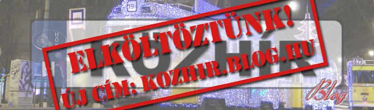 KÖZHÍR blog