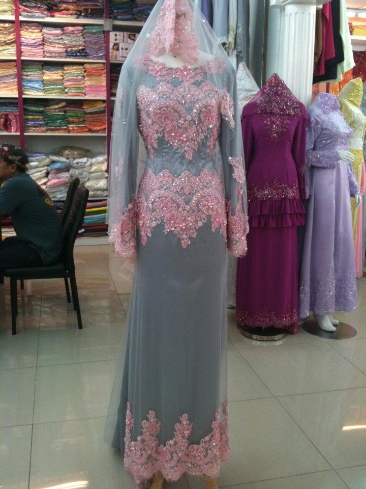 baju pengantin terkini di butik kami