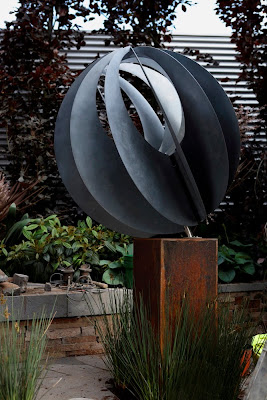 Lump Sphere Sculpture