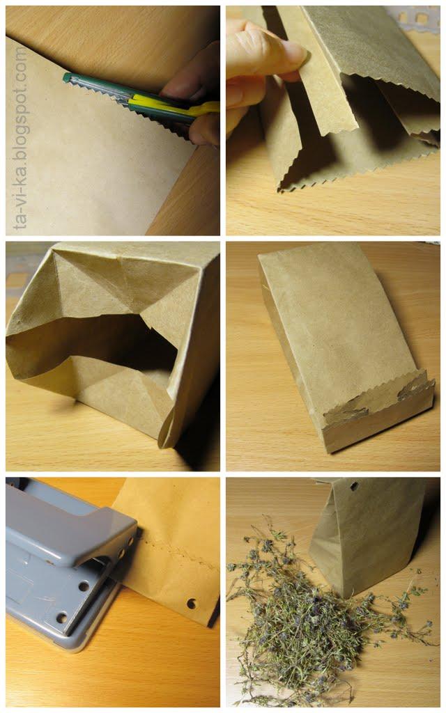 Как сделать бумажные пакетики 97