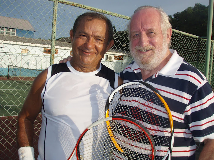 MANFRED É VICE CAMPEÃO DE TENIS DO TORNEIO INTERNO SEDEL 2011