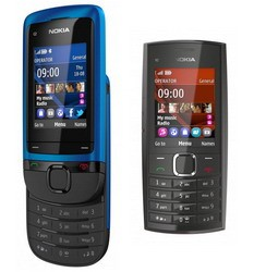 Nokia C2-05 slider, Nokia X2-05 candybar launched