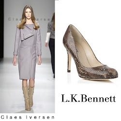 Queen Maxima Style in Claes Iversen Coat and LK Bennett Shoes