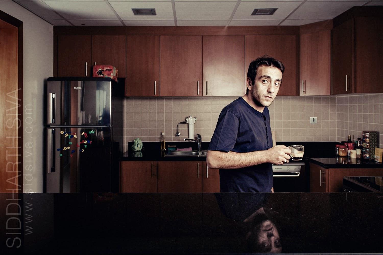 Portrait of Jerome Ferrari by Dubai photographer Siddharth Siva
