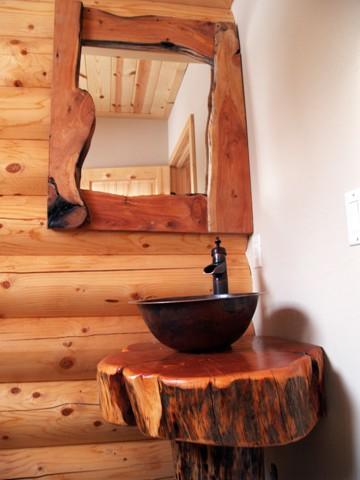 El encanto de un ba o rustico interiores por paulina for Banos rusticos con encanto