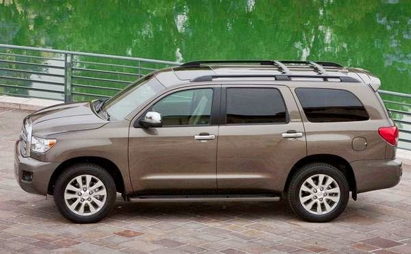 Toyota Sequoia 2015 Price Canada