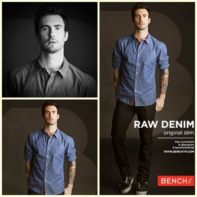 Adam Levine for Bench Back to School Denim Campaign 2013