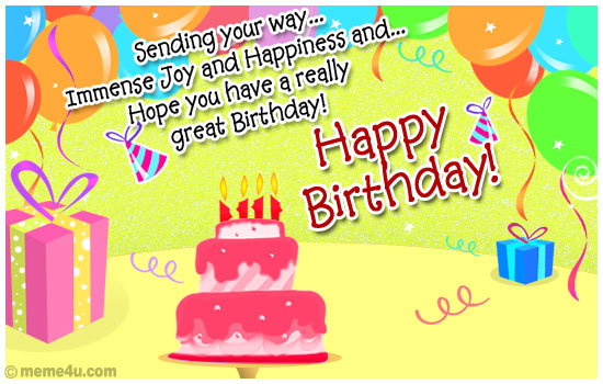 Birthday Ecards The Best Greeting Cards – Free E Birthday Cards