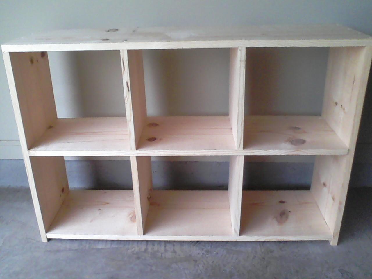 Workman Witticisms: Nursery Progress: 6 Cube Storage Chest