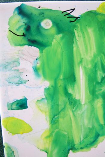 Dans ma palette, Nathalie Le Reste