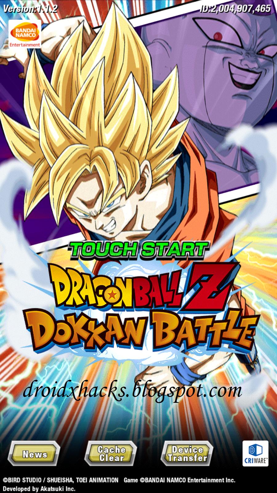 dragon ball dokkan battle apk mod 4.0.2