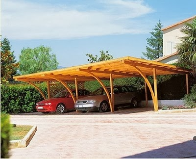 Desain Carport Minimalis