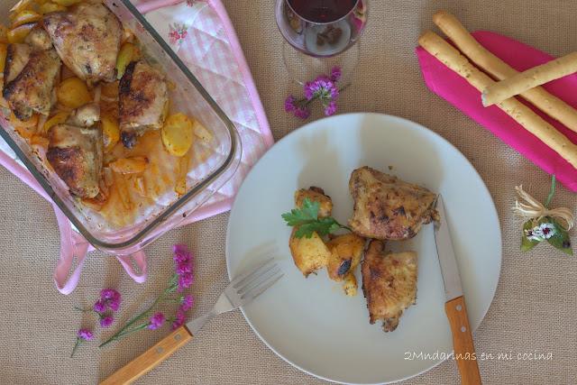 Pollo a la Miel, limón y especias DUCROS