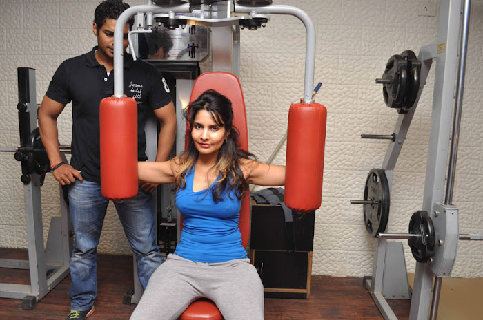 rachana shah's fitness workout latest photos