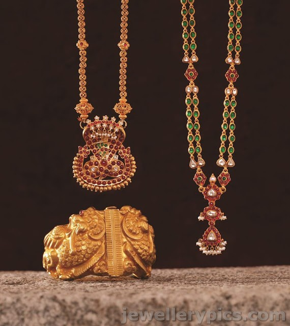Ruby Necklace Collection From Mehta Jewellers Latest