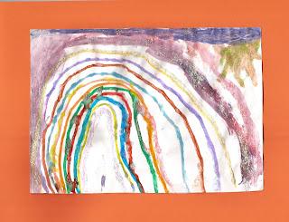 arco iris dibujo
