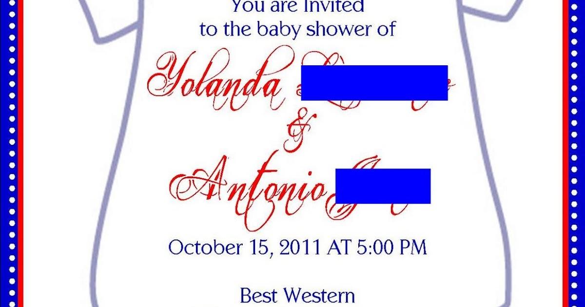 Baby Shower Invite was adorable invitations design