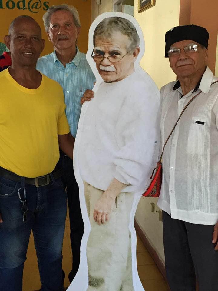 Oscar Lopez Rivera, Ivan Rofriguez y yo