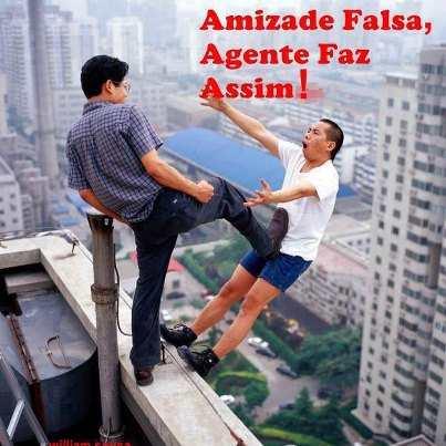 Amizade+falsas Fotos engraçadas para postar no facebook photoshop