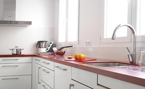 Tu blog de cocina rodyvar una ventana encima del for Como distribuir una cocina cuadrada