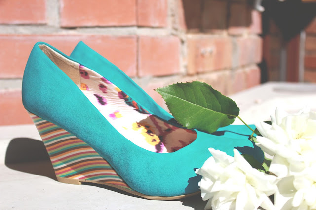 SHOES: TURQUOISE PRIZMAHFASHION