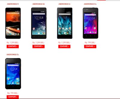 Smartphone Andromax 4G Lte Serta Hisense Pureshot