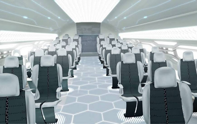 Airbus unveils transparent airplane